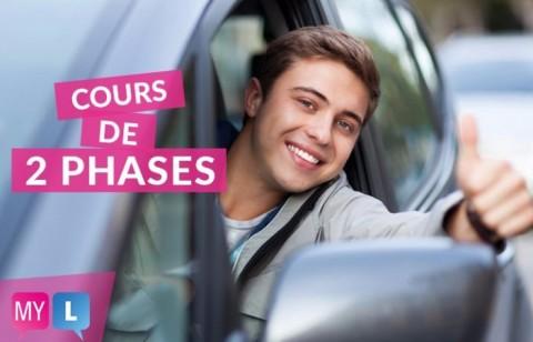 Votre cours 2 phases Genève avec My driving school
